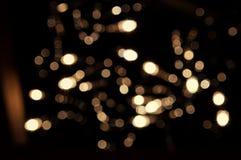 Bokeh ljus Arkivfoto