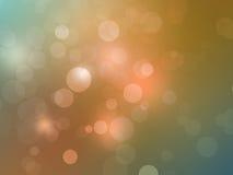 Bokeh ljus - abstrakta bakgrundsbubblor Fotografering för Bildbyråer