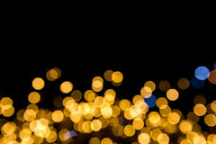 Bokeh ljus bakgrund Arkivfoton