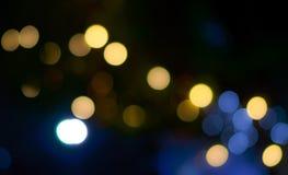 Bokeh ljusbokeh Fotografering för Bildbyråer