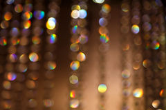 Bokeh miasto zaświeca tło Obraz Royalty Free