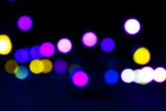 Bokeh mit multi Farben Festlicher Lichter bokeh Hintergrund defocused bokeh Lichter Unscharfes Bokeh Bokeh-Licht Weinlesehintergr stockfotografie