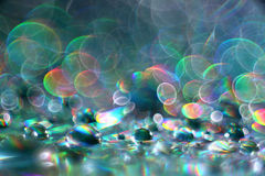 Bokeh multicolore abstrait de tache floue de texture Image libre de droits