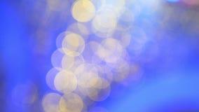 Bokeh multicolore molte luci confuse colorate Reticolo della priorità bassa fotografia stock