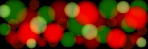 Bokeh multicolore sur un fond noir illustration panoramique abstraite illustration de vecteur