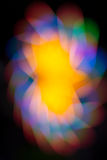 Bokeh from neon light Royalty Free Stock Images