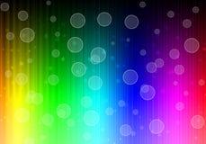 Bokeh on Neon lights dark background. Beautiful Bokeh on Bright Neon Lines Background. Abstract Colorful Neon Pattern. Colorful Neon Pattern. Striped Neon Stock Image