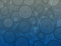 Bokeh omcirkelt patroon stock foto