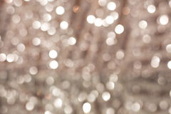 Bokeh pastel pink background with blurred  lights Royalty Free Stock Images