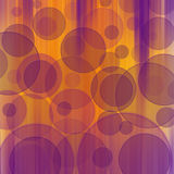 Bokeh  pattern. Orange purple  bokeh   layers  pattern background effect Stock Images