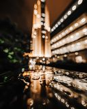 Bokeh Photography of Building royalty free stock images
