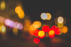 Bokeh Photography of Colorful Lights Stock Images