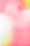Bokeh pink background Royalty Free Stock Images