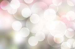 Bokeh on pink shade background Royalty Free Stock Photos