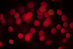 Bokeh röd bakgrund Royaltyfri Foto