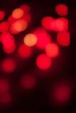 Bokeh röd bakgrund Royaltyfria Foton