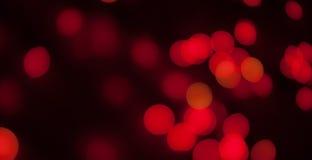 Bokeh röd bakgrund Royaltyfri Fotografi