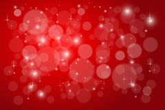 Bokeh red abstract  background Royalty Free Stock Image