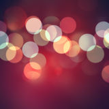 Bokeh red background. Abstract red background with bokeh effect Stock Image