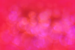 Bokeh red lights Royalty Free Stock Images