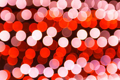 Bokeh red and white Stock Photos