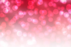 Bokeh. Red and white holiday bokeh. Abstract Christmas background Royalty Free Stock Photography