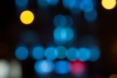 Bokeh redondo de las luces imágenes de archivo libres de regalías