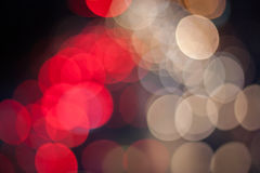 Bokeh on the road Royalty Free Stock Images