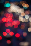 Bokeh on the road Royalty Free Stock Photography