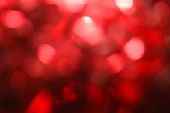Bokeh rojo del fondo Fotografía de archivo