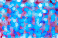Bokeh rond sur le foyer mou Photos stock