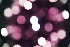 Bokeh rosâtre Image stock