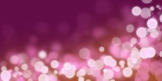Bokeh rosado Fotos de archivo