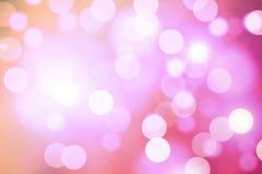 Bokeh rosado foto de archivo libre de regalías