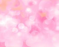 Bokeh rosado y fresco del fondo abstracto Foto de archivo libre de regalías