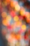 Bokeh rosso astratto Fotografia Stock