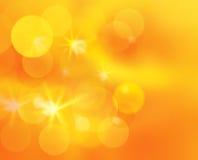 Bokeh scintillé brillant ensoleillé - fond d'abstarct Image stock