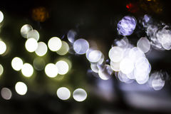 Bokeh of Seasonal Lights Royalty Free Stock Image