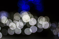 Bokeh of Seasonal Lights Stock Image