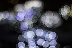 Bokeh of Seasonal Lights Royalty Free Stock Photo