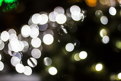 Bokeh of Seasonal Lights Royalty Free Stock Photography