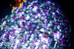 Bokeh series - bright stars Royalty Free Stock Image