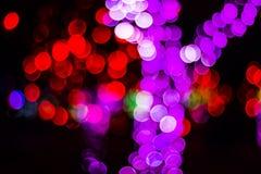 Bokeh Sezonowi światła Zdjęcia Royalty Free