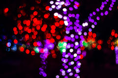 Bokeh Sezonowi światła Obraz Stock