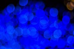 Bokeh Sezonowi światła Fotografia Stock