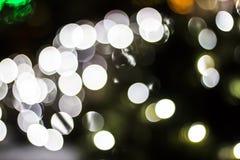 Bokeh Sezonowi światła Fotografia Royalty Free