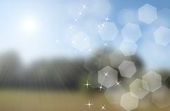 Bokeh shine background Royalty Free Stock Photo