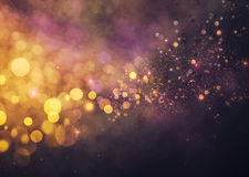 Bokeh shiny abstract background Stock Images