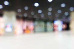 Bokeh of shopping mall Stock Photo