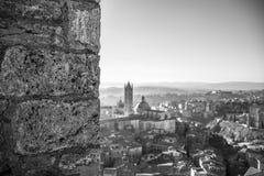 Bokeh Siena Fotografia Royalty Free
